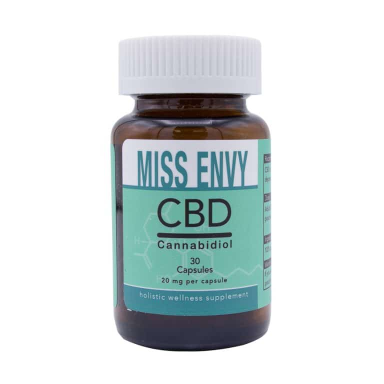 Miss Envy - CBD Capsules - 20mg