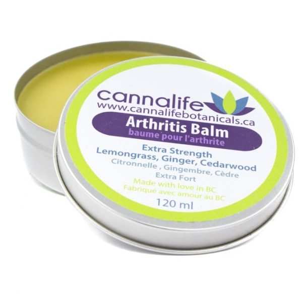 Cannalife – Arthritis Balm – 120ml