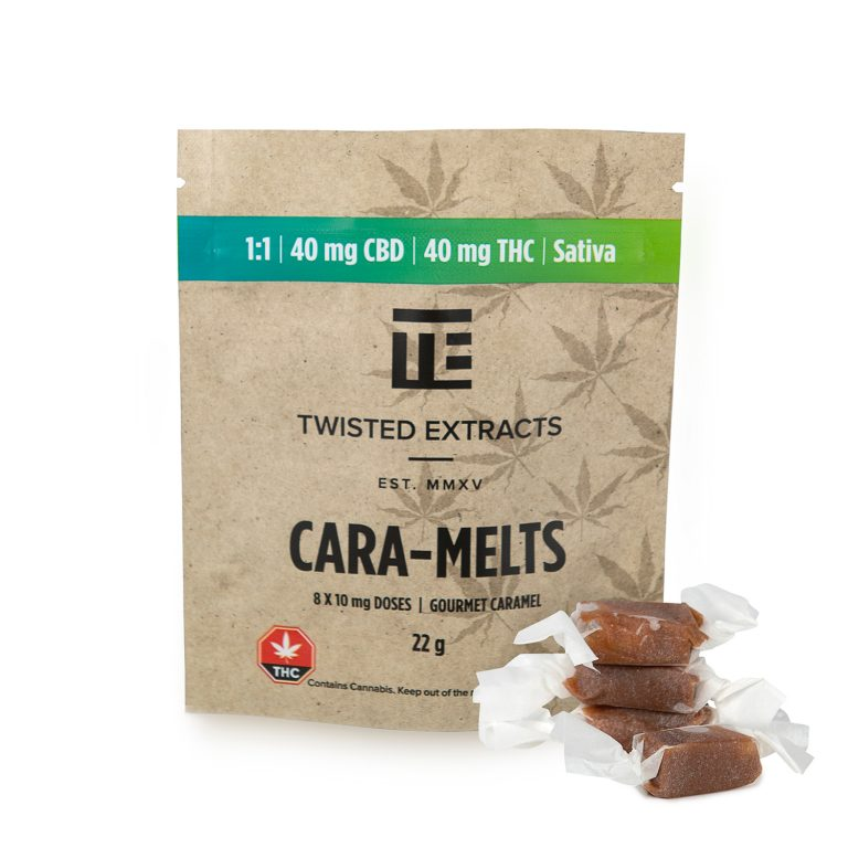 Twisted Extracts - Cara-Melts - 1:1 - Sativa