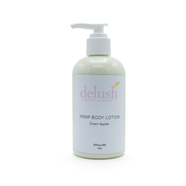 Delush - Hemp Body Lotion - Green Apples