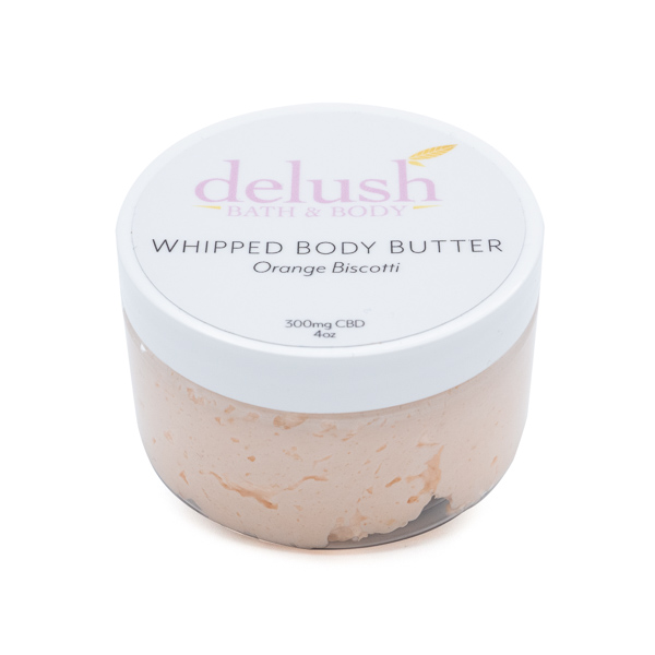 Delush - Whipped Body Butter - Orange Biscotti