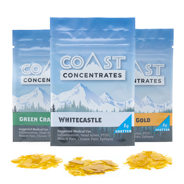 Coast Concentrates - Shatter