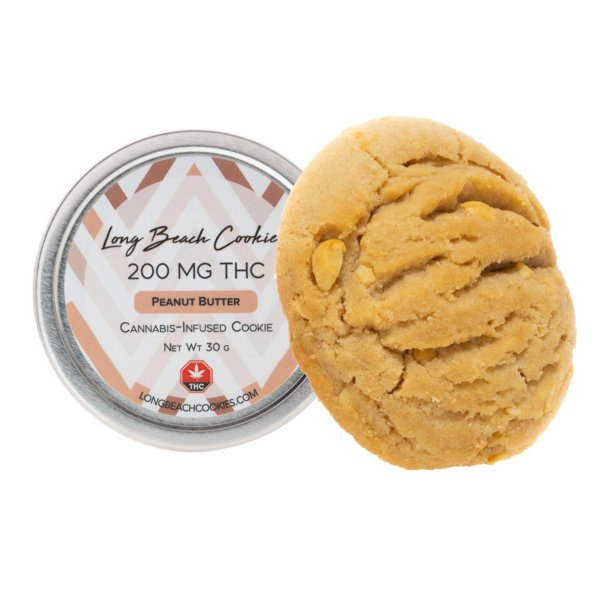 peanut butter thc cookie