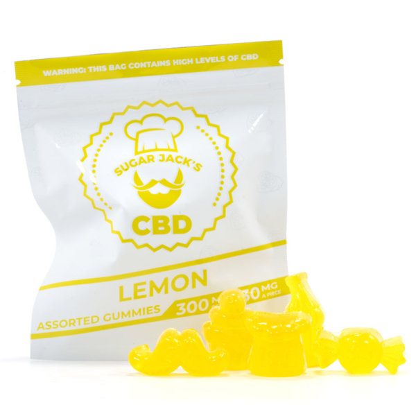 CBD Assorted Lemon Gummies