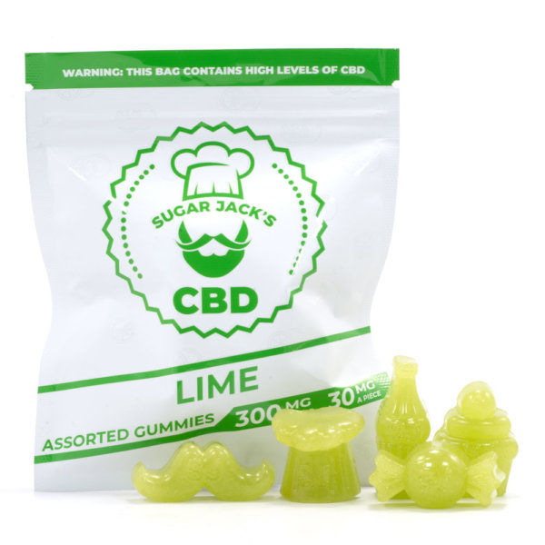 CBD Assorted Lime Gummies