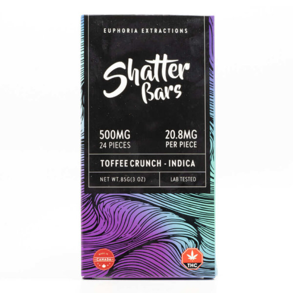 Indica Toffee Crunch Shatter Bar
