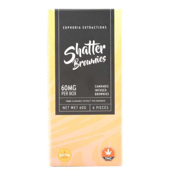 Sativa 60mg Shatter Brownies