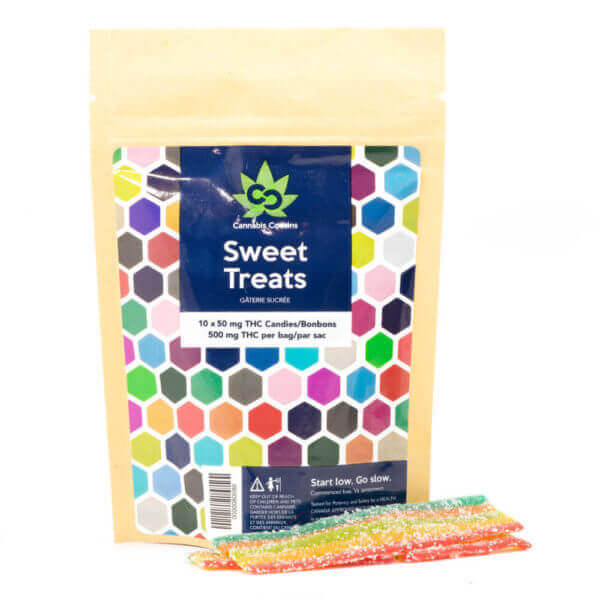 500mg THC Rainbow Strips